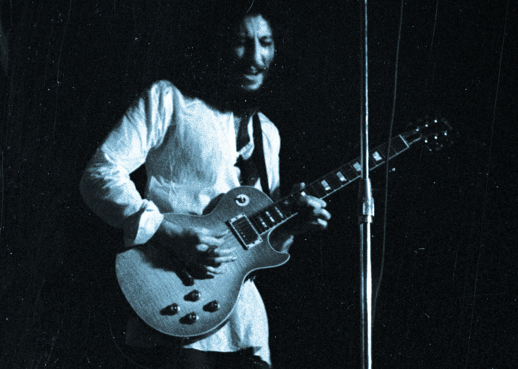 "Former Fleetwood Mac member Peter Green. He was too damn ""green."""