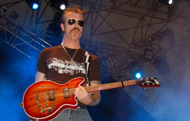 Jesse Hughes of the Eagles of Death Metal.