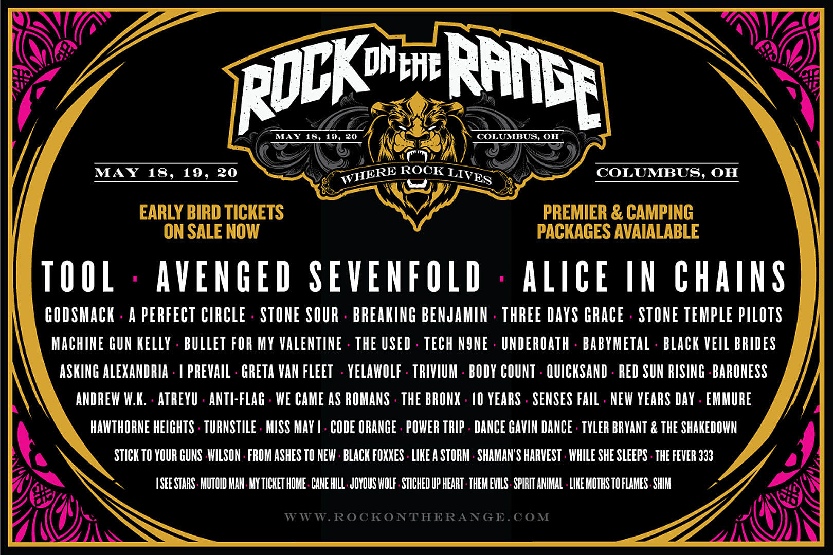 Rock On The Range : rock on the range 2018 gives a double dose of maynard rocknuts ~ Vivirlamusica.com Haus und Dekorationen